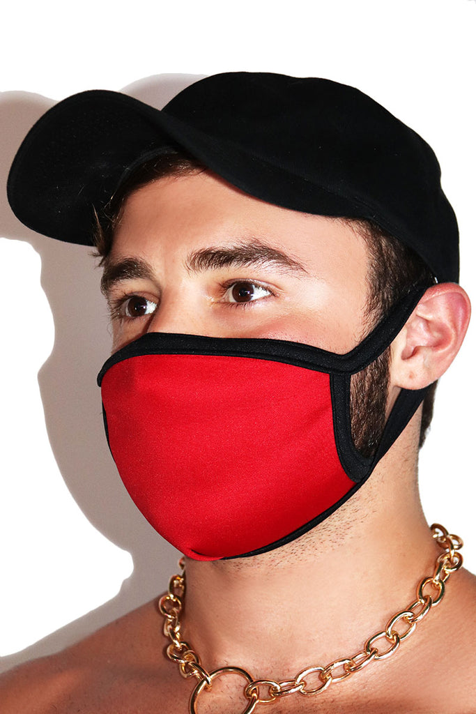 Core Face Mask- Red