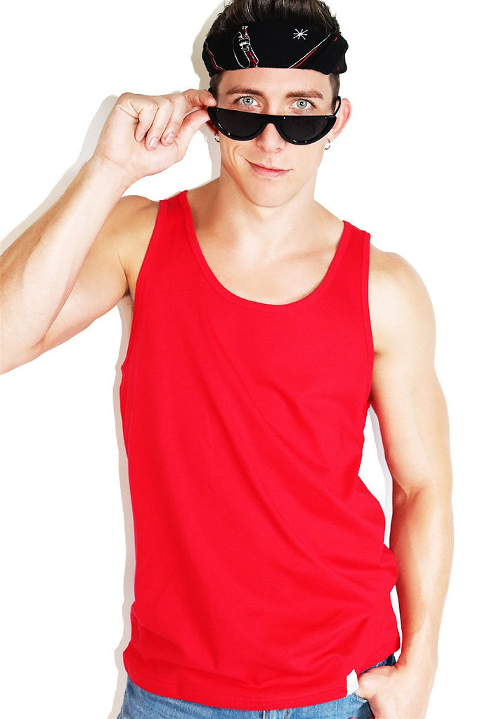 Core Racerback Tank-Red