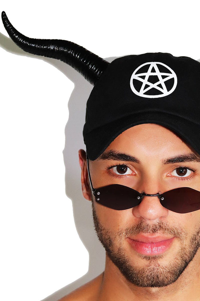 Dark Ritual Dad Hat-Black