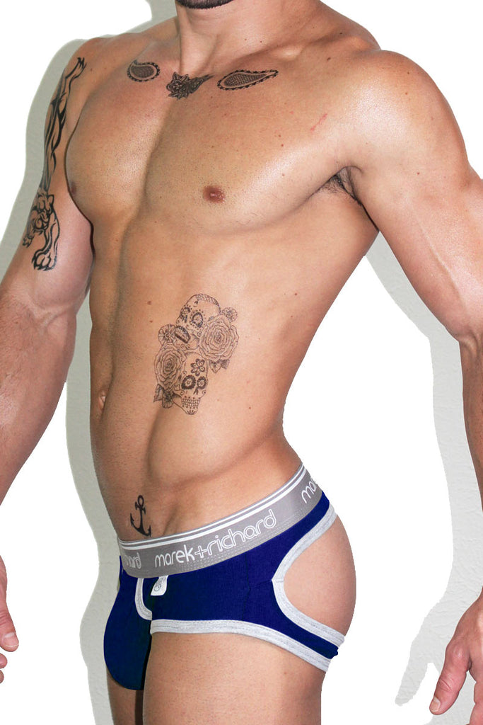 Core Open Back Brief-Royal