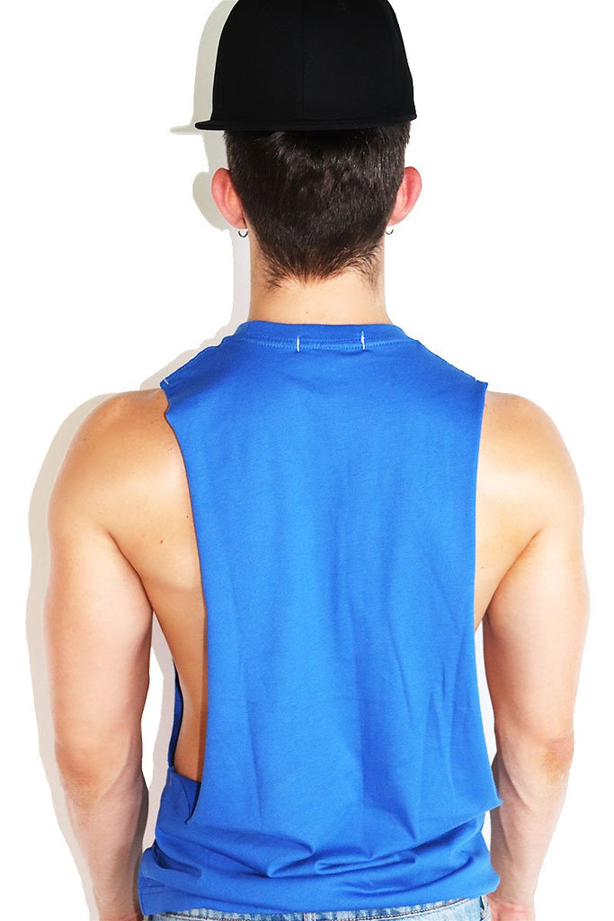 Core Shredder Tank-Royal Blue