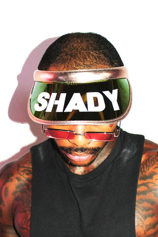 Shady Visor-Rose Gold