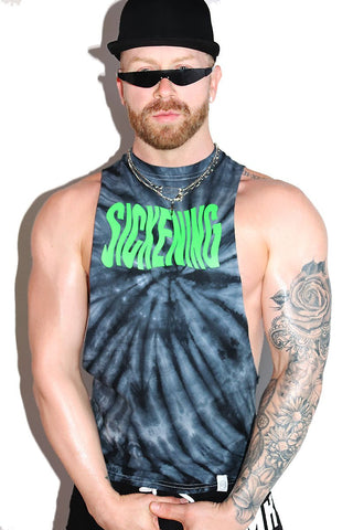 Sickening Low Arm Shredder Tank- Black