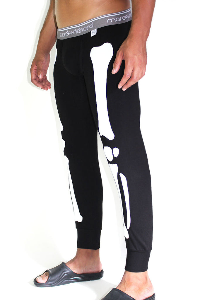 X-Ray Long Johns-Black