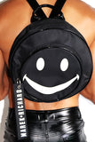 Smiley Backpack-Black