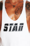 STAN String Tank-White