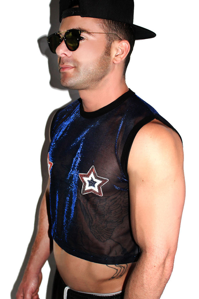 Star American Pasties-Black