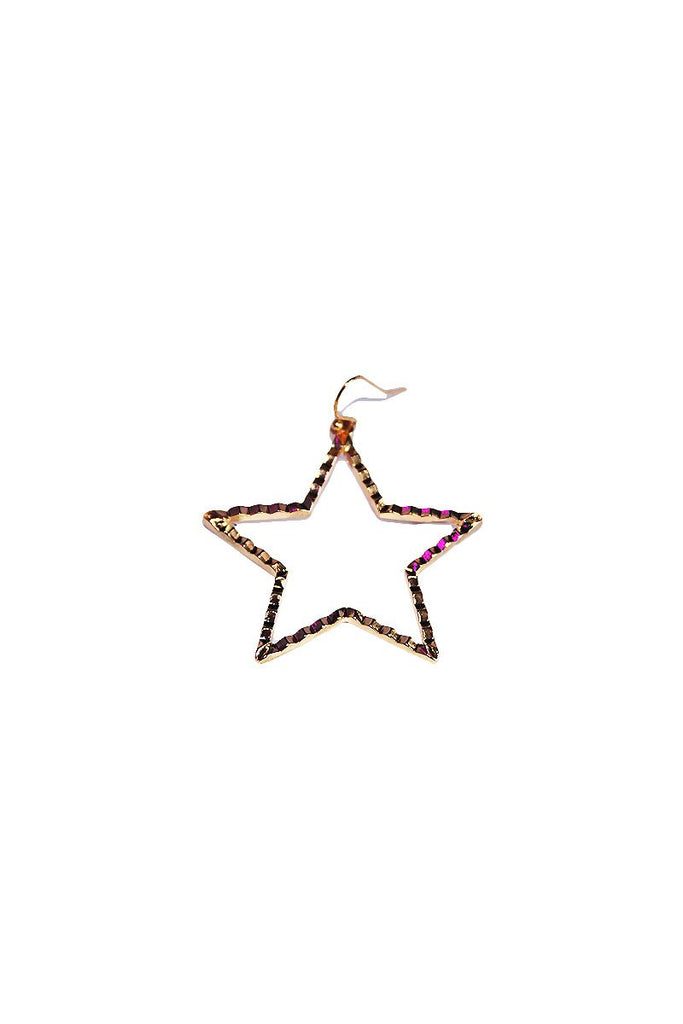 Star Quality Single Earring- Gold