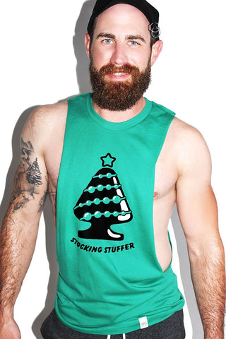 Stocking Stuffer Low Arm Tank-Green