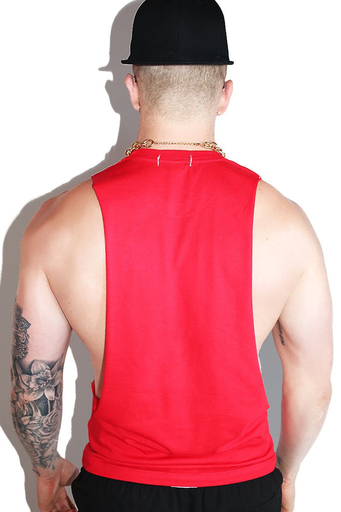 Subscribe Now Low Arm Shredder Tank- Red
