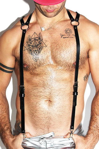 Suspender Harness-Black