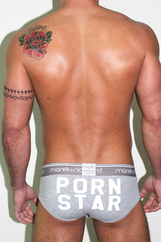 PORN STAR Brief- Grey
