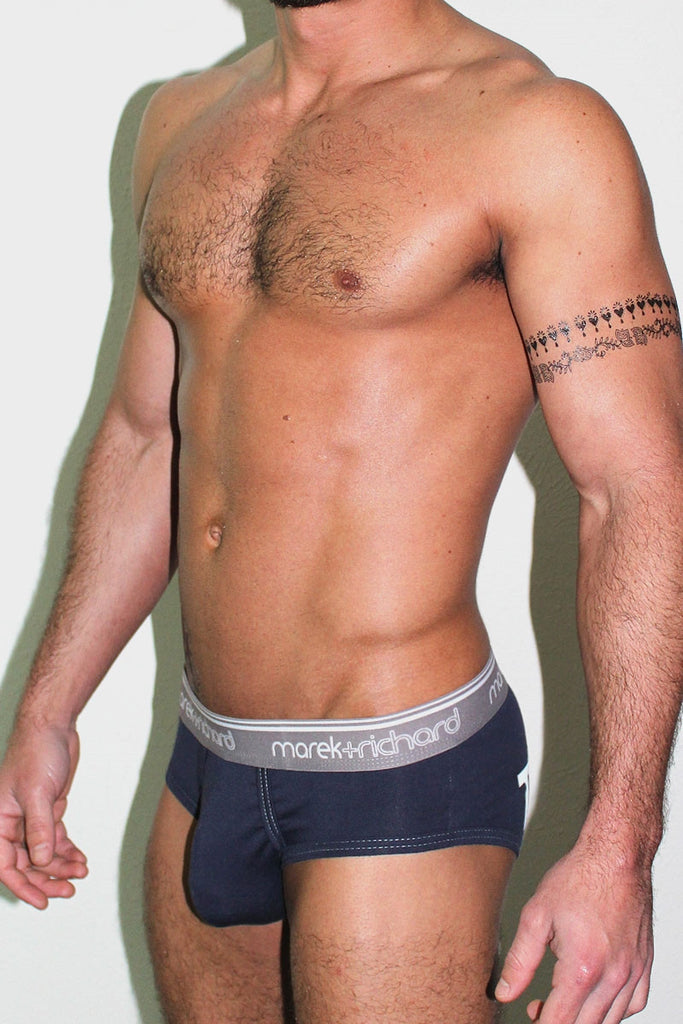 Toss It Brief- Navy