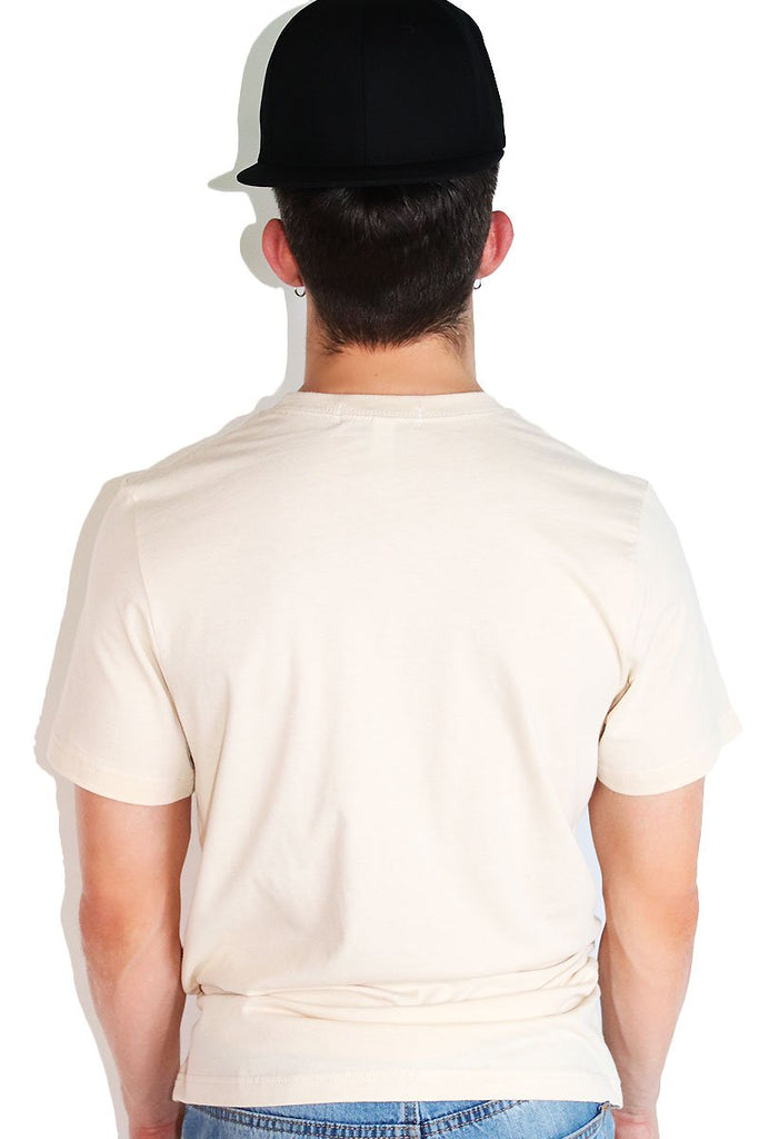 Core Crewneck Tee-Cream
