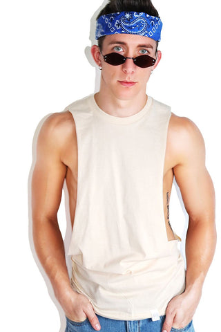 Core Shredder Tank-Cream