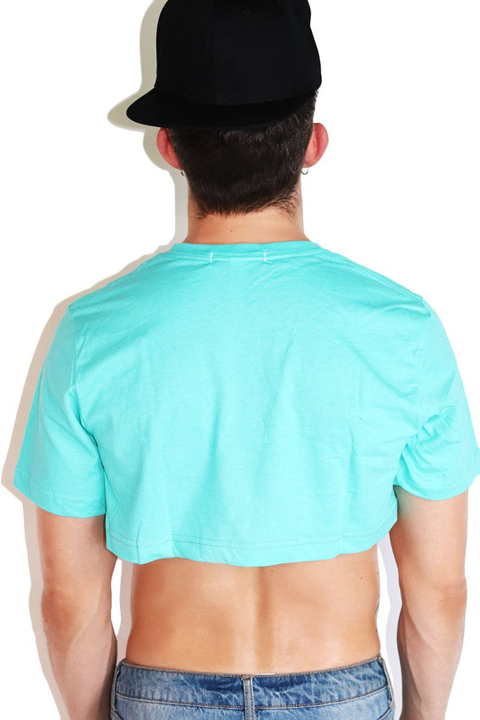 Core Extreme Crop Tee-Teal
