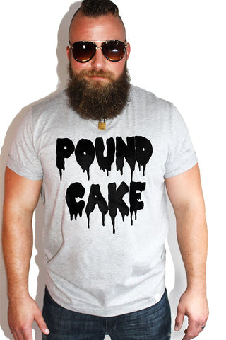 PLUS: Pound Cake Tee-Grey