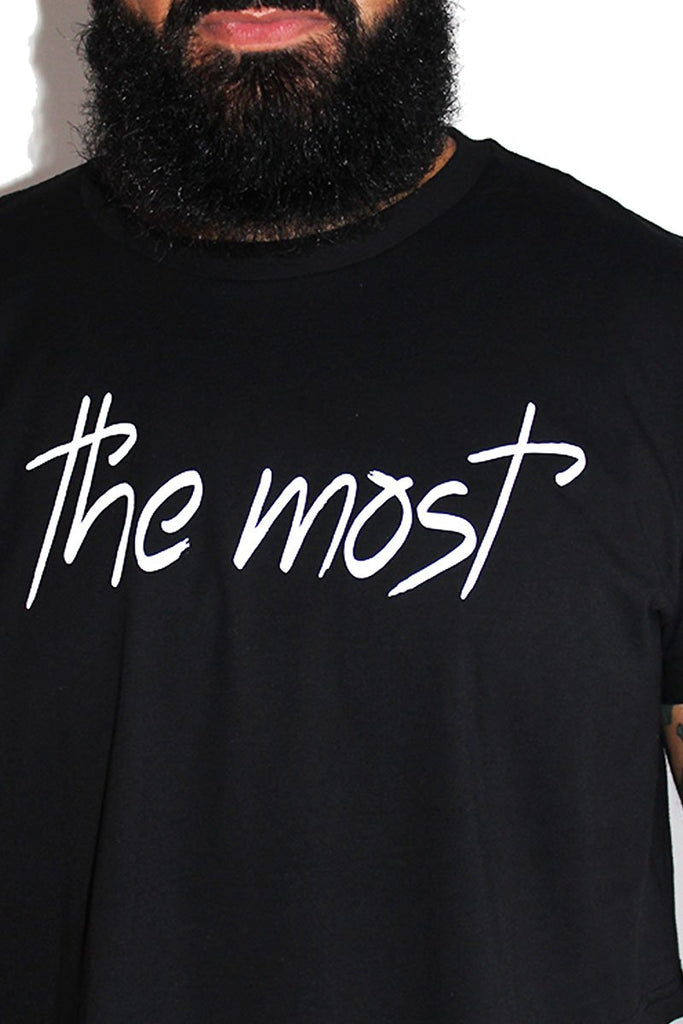 PLUS: The Most Crop Tee-Black