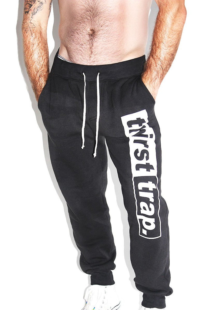 Thirst Trap Skinny Joggers- Black