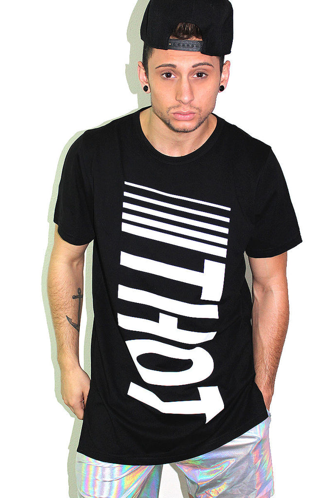THOT Tunic Tee- Black
