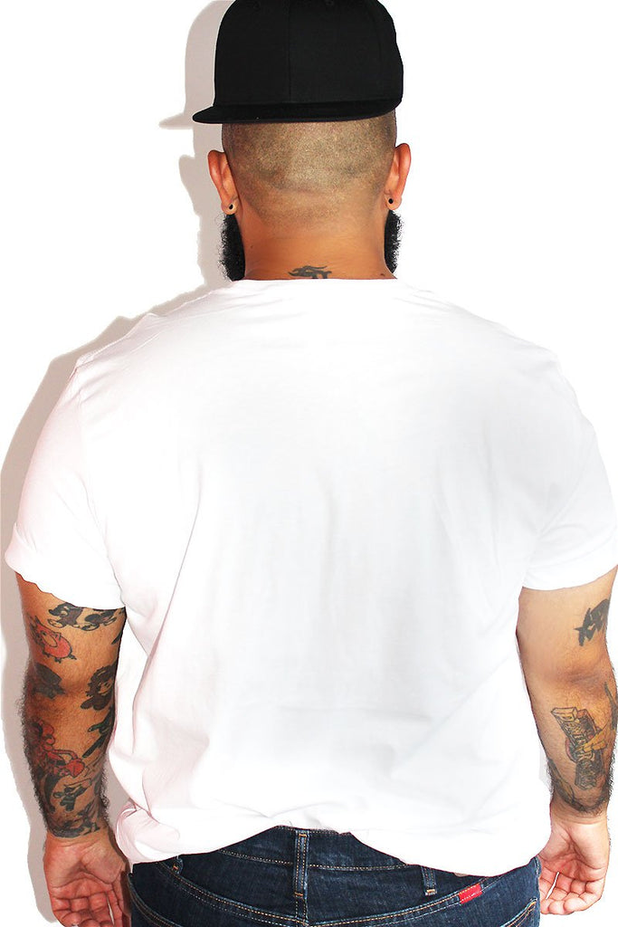 PLUS: Top Tee-White