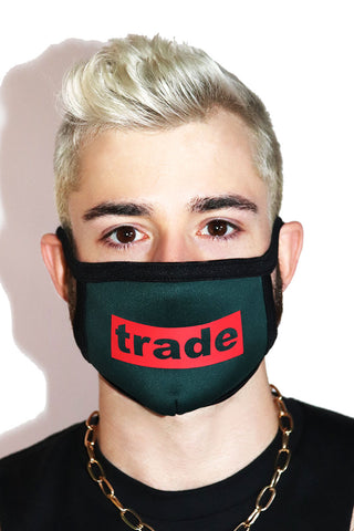 Trade Face Mask- Green