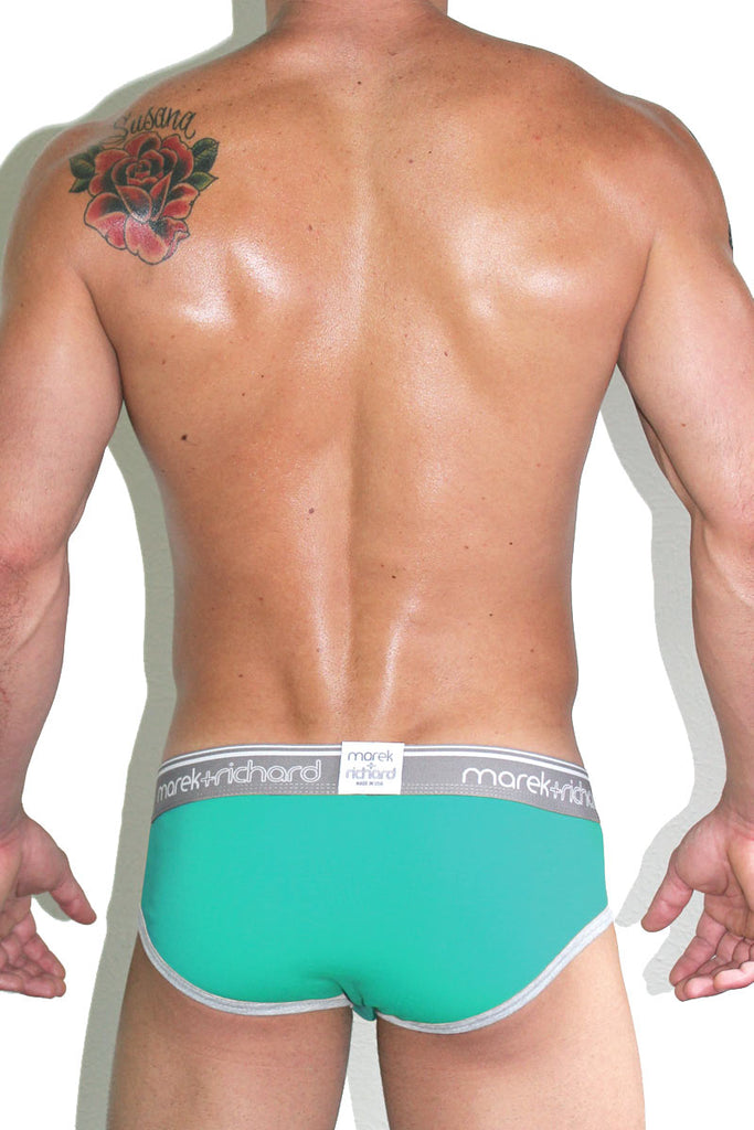 Core Brief-Turquoise