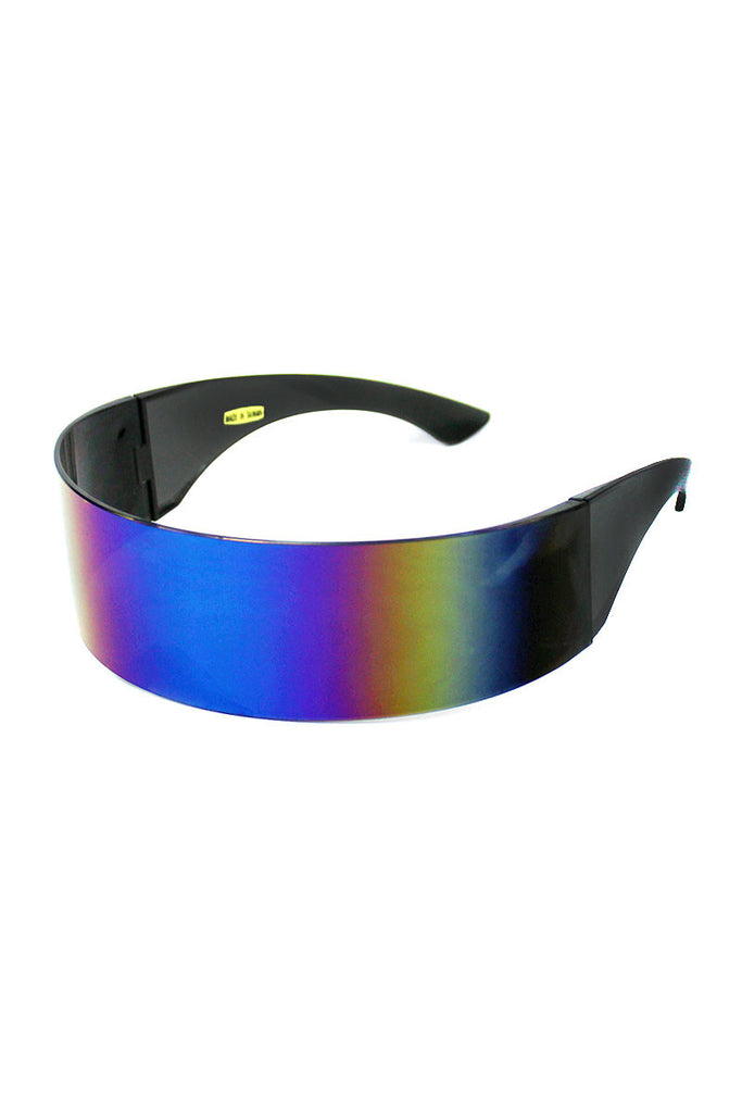 Mono Rainbow Frameless Sunglasses-Black