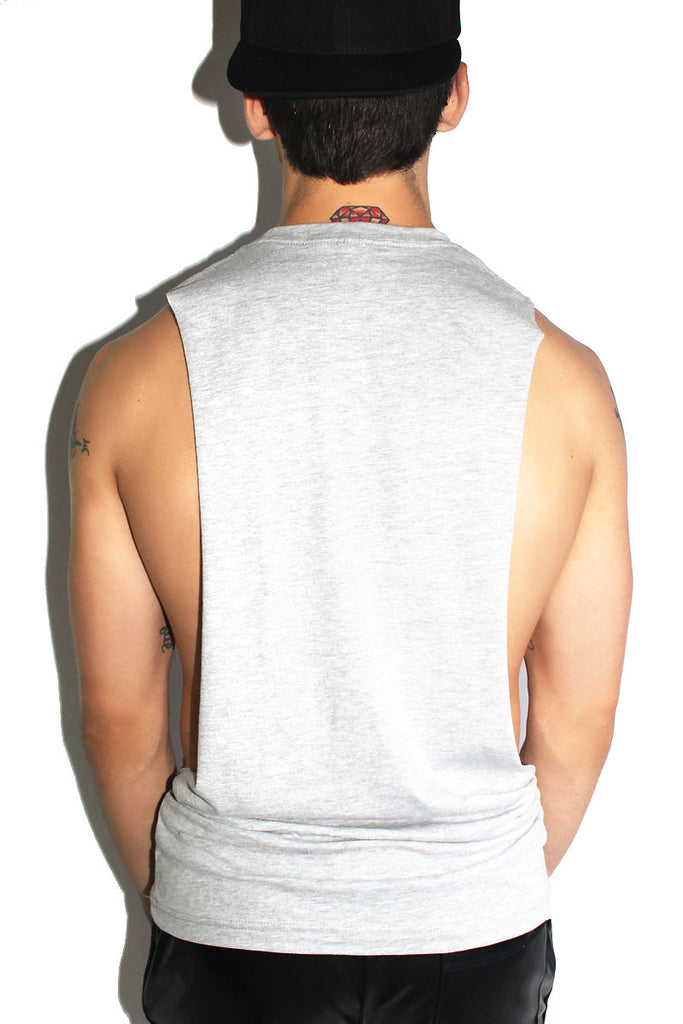 Vers Low Arm Tank- Grey