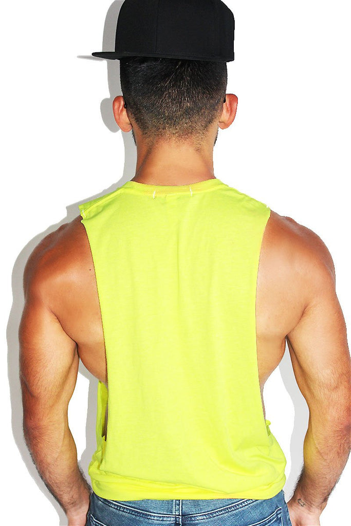 Vodoo Me Low Arm Shredder Tank- Neon Yellow