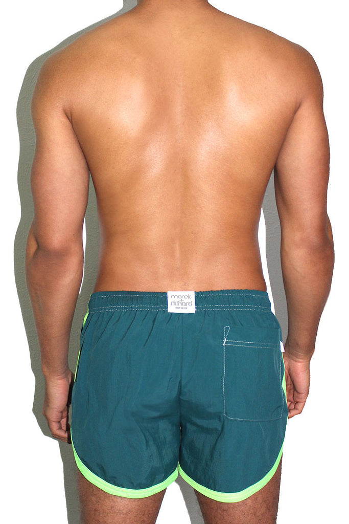 Wet One Board Shorts- Green