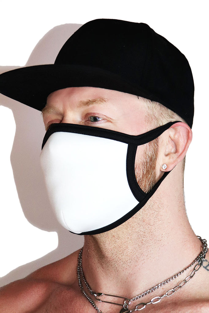 Core Face Mask-White