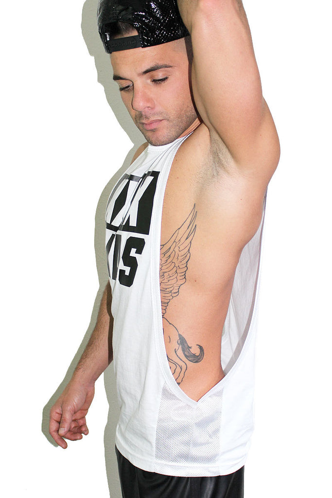 XXXMas Low Arm Tank- White