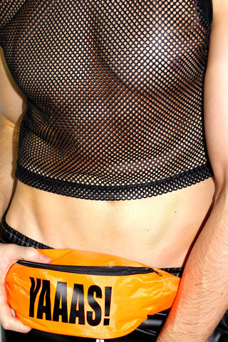 Yaaas! Fanny Pack- Orange