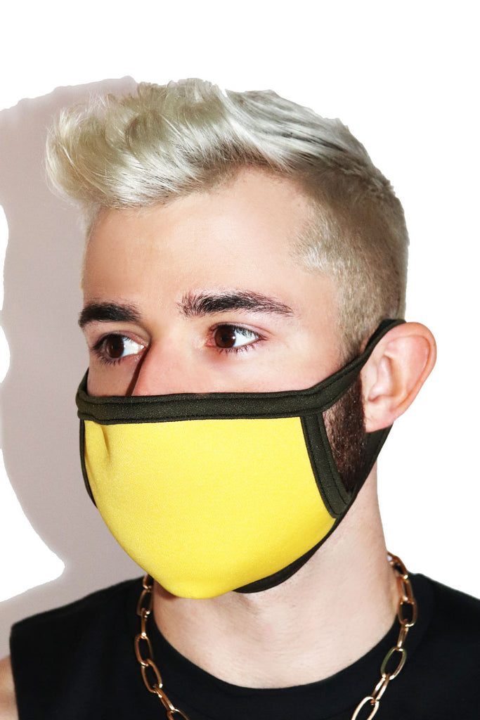 Core Face Mask- Yellow