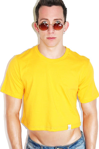 Core Extreme Crop Tee-Orange