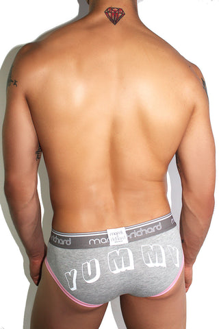 Yummy Brief- Grey