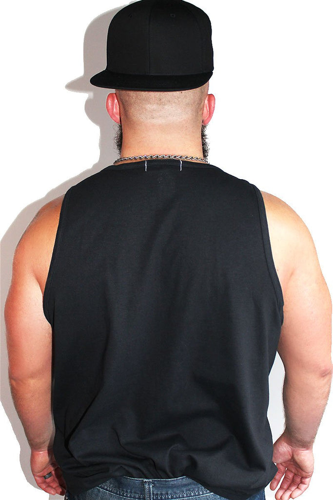 PLUS: Zaddy's Home Racerback Tank-Black