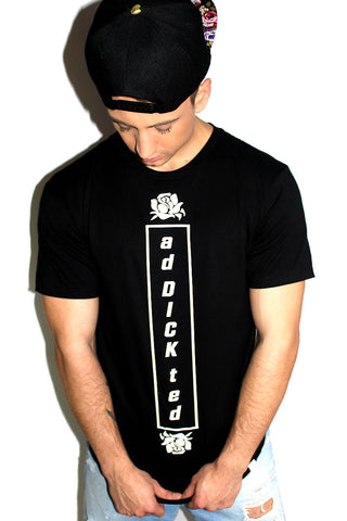 High Tide Vintage Mesh Tee-Black