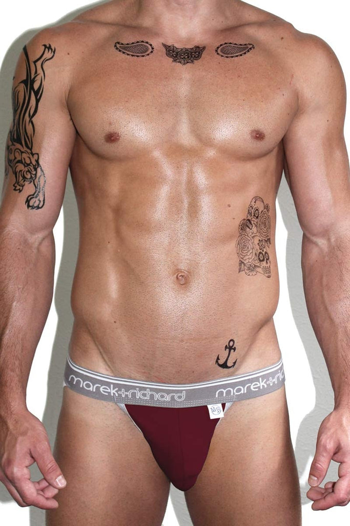 Core Jock-Burgundy