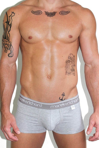 Ride Me Metallic Laceup Trunks-Silver