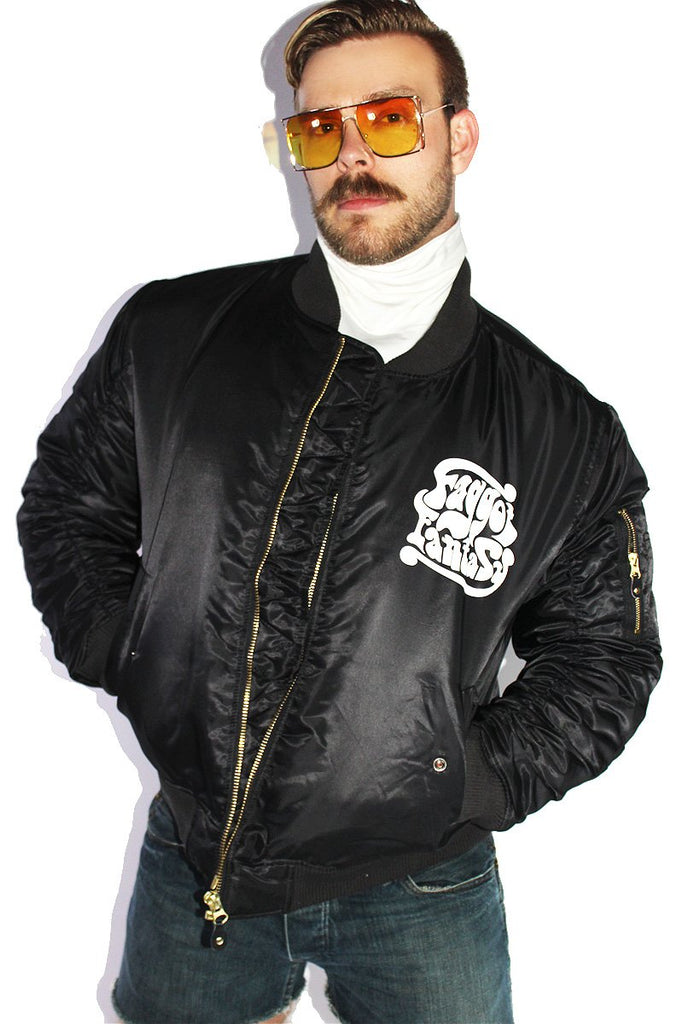 Faggot Fantasy Bomber Jacket-Black
