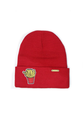 Fries Beanie- Red