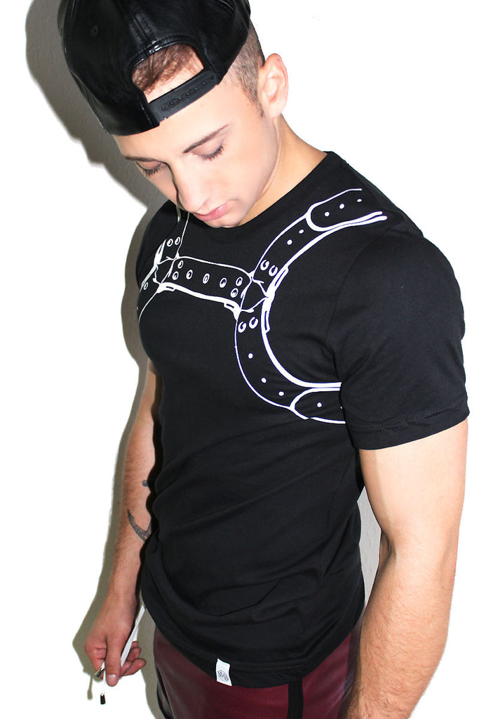 Harness Tee-Black
