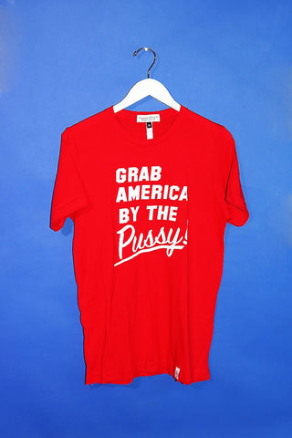 SAMPLE 166-Grab America Tee Red-M