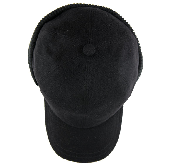Cashmere Black - Margo Petitti Italy,Hats - scarf