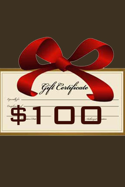 Gift Certificate $100 - Margo Petitti Gift Certificates - scarf