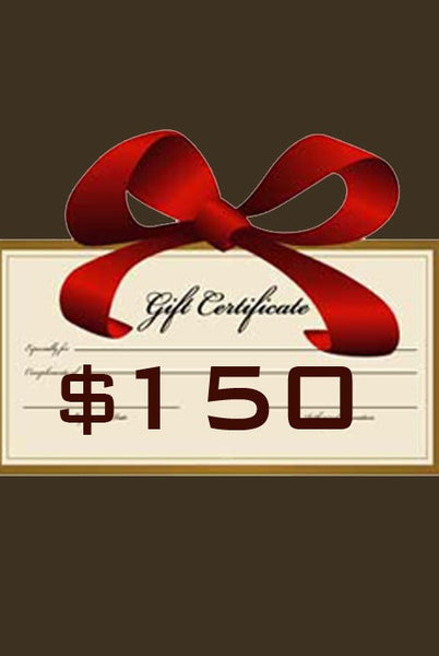 Gift Certificate $150 - Margo Petitti Gift Certificates - scarf