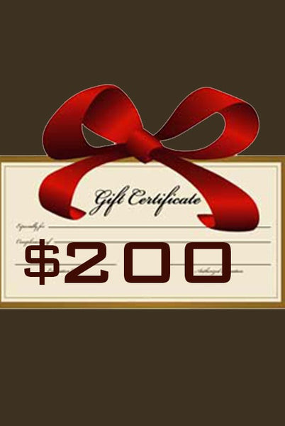 Gift Certificate $200 - Margo Petitti Gift Certificates - scarf