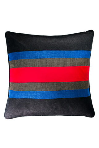 "Multi Stripe 23"" x 23"""